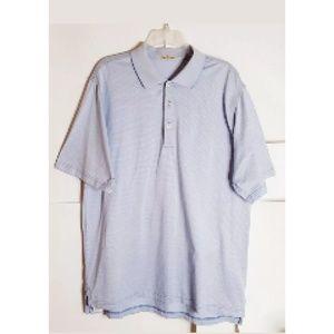 Peter Millar Double Mercenized Cotton Polo Sz L
